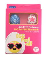 Кремовая пилинг-маска Milatte Fashiony Egg Peel-Off Cream Pack, 4 шт