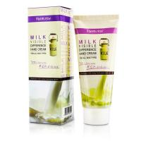 Крем для рук с экстрактом молока FarmStay Milk Visible Difference Hand Cream, 100гр