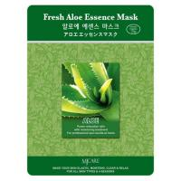 Маска тканевая с алоэ Mijin Fresh Aloe Essence Mask 23 мл